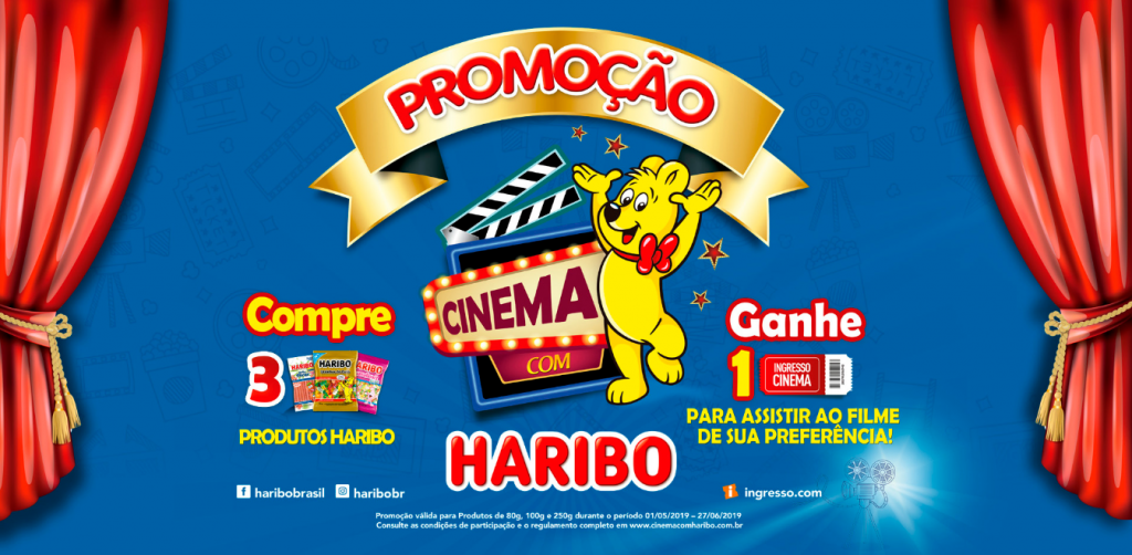Ganhe Ingresso de Cinema com Haribo