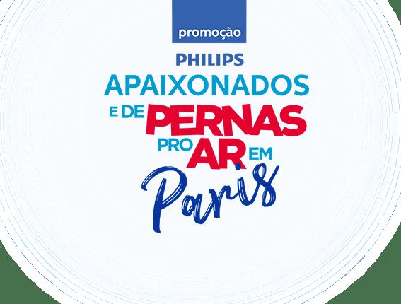 Promoção Philips te leva para Paris