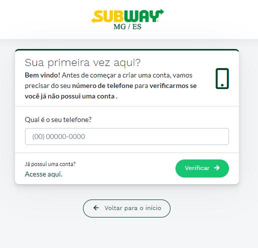 Clube de Benefícios Subway