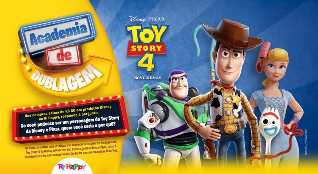 RiHappy: ganhe Kit de produtos Toy Story e visita à Pixar
