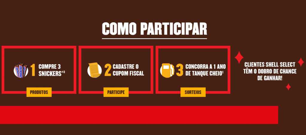 Promoção: Snickers mata sua fome e abastece o seu rolê!