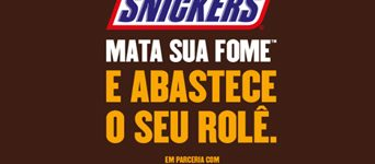 combustivel gratis com snickers