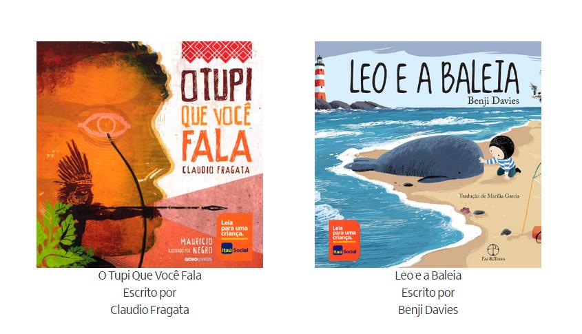 Leia para uma criança Itaú