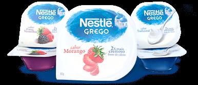Experimente Nestlé Grego e receba seu dinheiro de volta