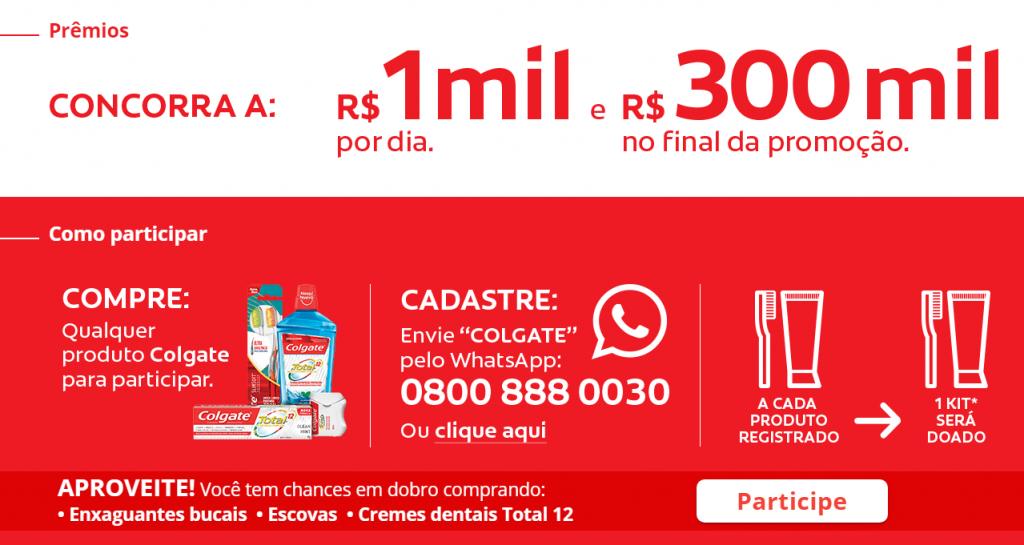Promoção Colgate Faz Sorrir vai te dar R$1 milhão!