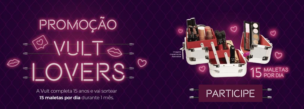 Promoção Vult Lovers: ganhe a famosa maleta de maquiagem!