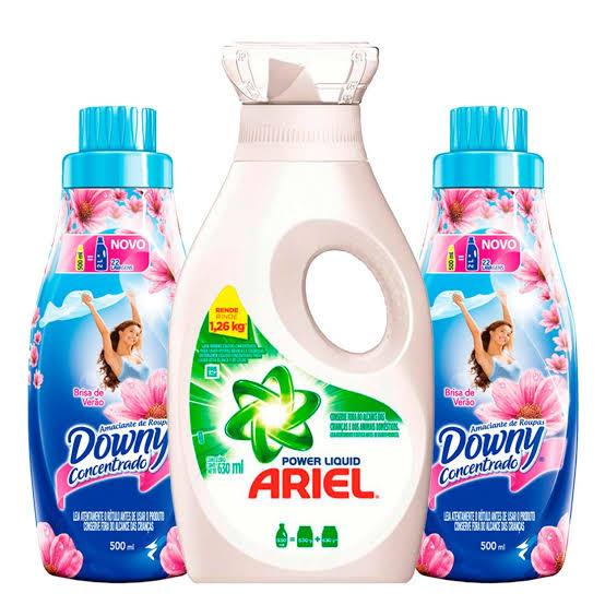 Copa Ariel: ganhe 1 lava-roupas e kits Ariel sem comprar nada